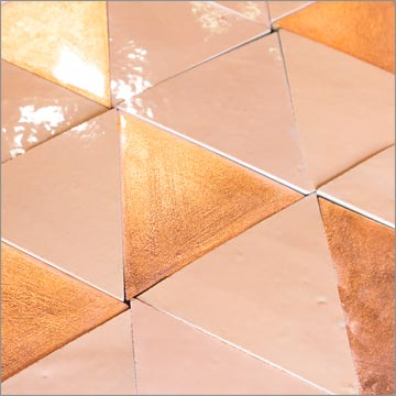 Triangle equilateral, Colours: copper+1083