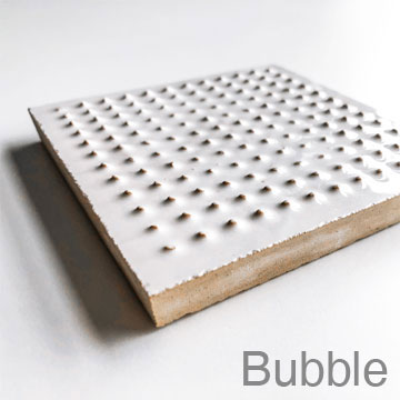 BUBBLE - Relief tile with dots providing extra grip on Zellige surface – for wet rooms